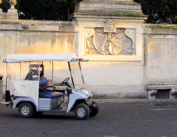 Golf Cart Tour.