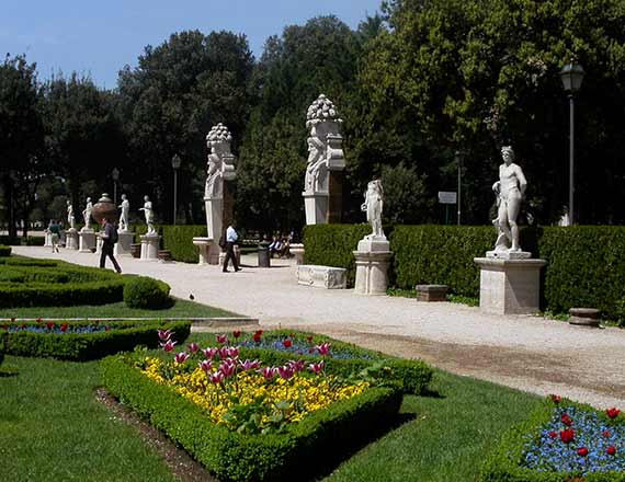 Borghese Gallery And Gardens
